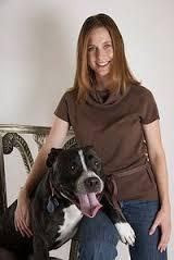 Aimee Gilbreath with dog