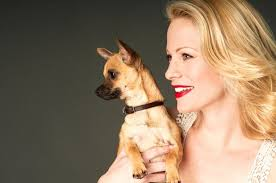 Alison Eastwood with Dog