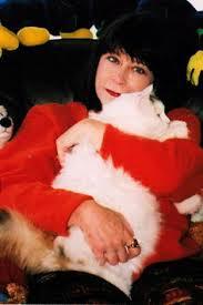 Allia Zobel Nolan with Cat