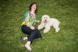 Amy Peller with Benny Hanna