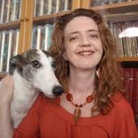 Dr. Annie Forslund with dog