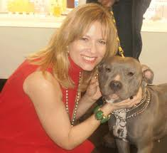 Babette Haggerty with dog