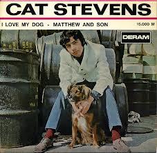 Cat Stevens with dog