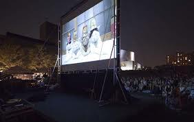 Cat Video Film Festival at night