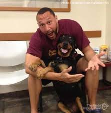 Charlie Batch and Roxie