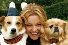 Charlotte Ross with dogs