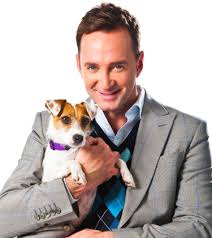 Clinton Kelly with Dog
