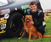 Cory Joyce with dog