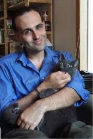 David Rosengard with Cat
