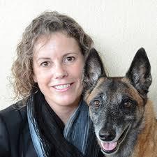 Debbie Martin with Dog