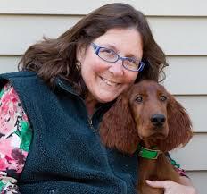 Debra Hamilton with Dog