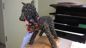 Deer Dropping Statue