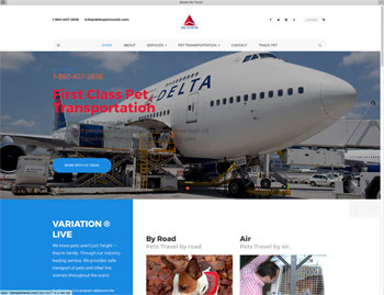 Fake Delta Airlines Website Scamming Pet Owners