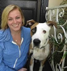 Dr. Ahna Brutlag with dog