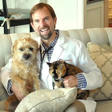 Dr. Ernie Ward with Dog and Cat