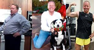 Eric Before and After Weight Loss with Peety