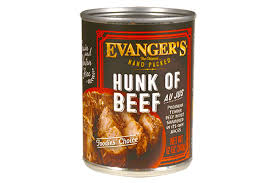 Can of Evangers Hunk of Beef