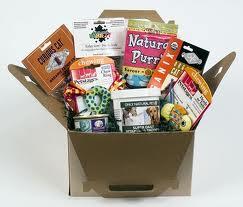 Dog gift box of goodies