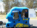 Anthony Amos with the Hydro Dog