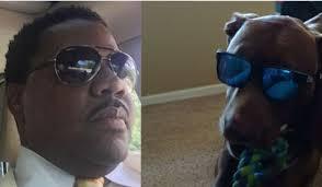 Marlin Jackson and Service Dog