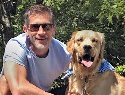 Attorney Jeremy Cohen with Dog