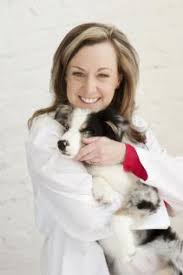 Dr. Kathryn Primm with Dog