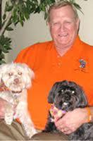 Ken Howard with dogs Hannan & Harley