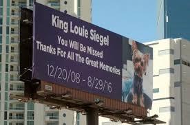 King Louie Billboard