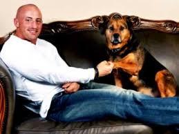 Kris Rotonda with dog