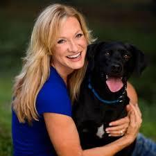 Kristen Levine with Dog