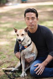 Marc Ching with Dog