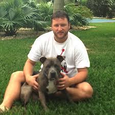 Mark Slater With Dog