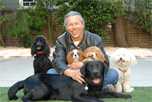 Michael Wombacher with Dogs