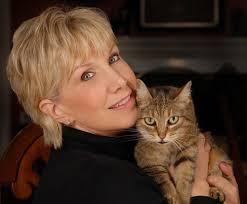Pam Johnson-Bennett with Cat