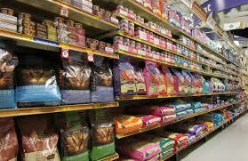 Pet Food Aisle