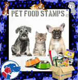 Pet Food Stamps Logo