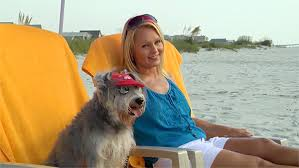 Co-Host Enjoying Florida with Dog