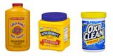 Gold Bond, Cornstarch & Oxi-Clean powders