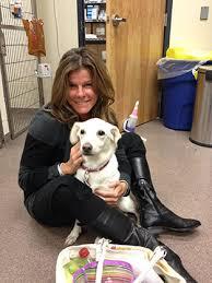 Remy Bibaud with Dog
