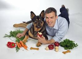 Rick Woodford with Dog