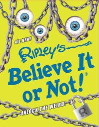 Ripleys Unlock The Weird Book Cover