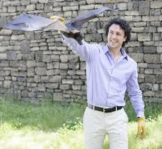 Rob Mies with Bat