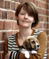 Stephanie Kent with puppy