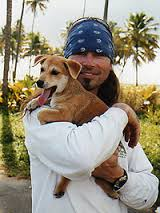 Stephen McGarva with dog