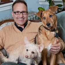 Steve Dale with Dogs
