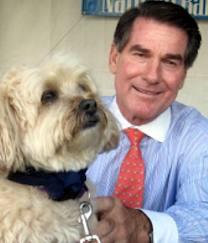 Steve Garvey and Dog