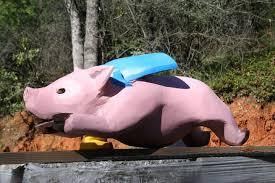 Super Porky Mascot