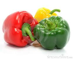 Red, Green & Yellow Peppers
