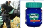 Baby Bear and Vicks VapoRub