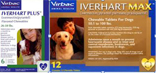 Iverhart Plus & Iverhart Max Heartworm Tablets